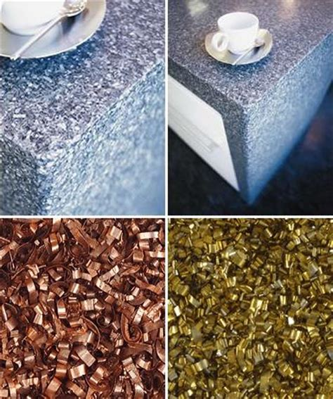 recycled countertop materials alkemi recycled countertops from renewed materials green
