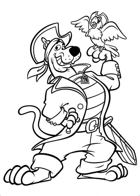 Dibujos de Scooby Doo para Colorear e Imprimir
