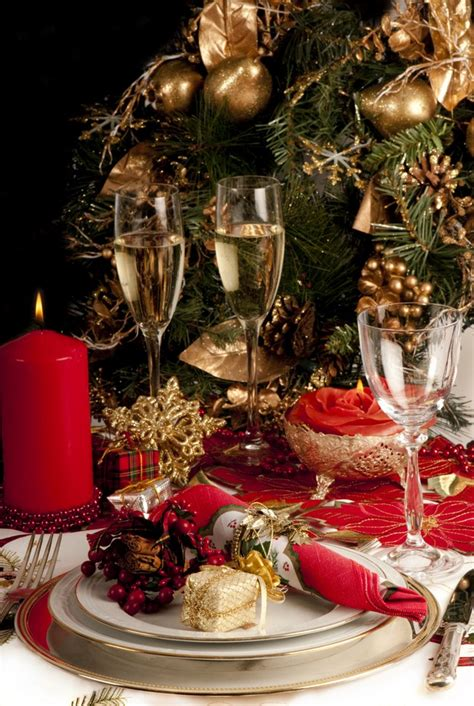 10 luxury christmas decorating ideas for table setting