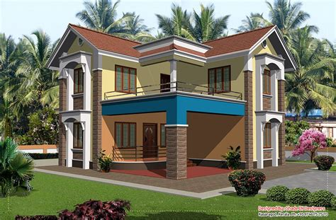 Style House Plans Two Storey House Plans In Kerala So Replica Houses
