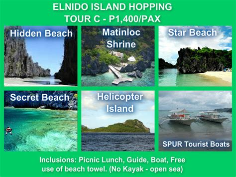 el turs complete el nido packages spur travel and toursspur