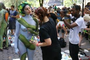 painting new 2015 nyc bodypainting day 2015 lynch flickr