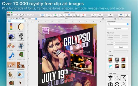 printable banner maker for mac poster maker create print a poster or flyer on the mac