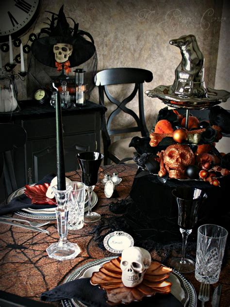 party themes halloween 10 halloween table decorations settings entertaining