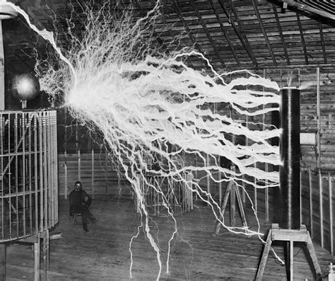 Tesla Physics Nikola Tesla Lighting Up The Ac Dc Mash Up