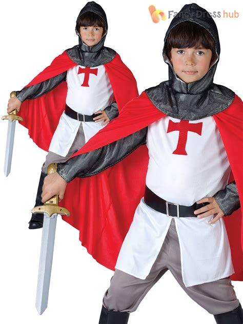 St Justine Vest Kid child crusader costume boys fancy dress up book week st george