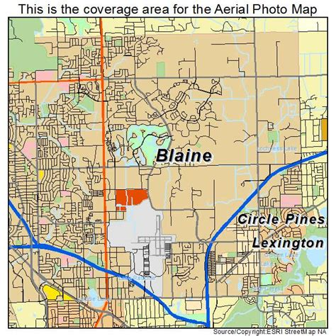 Home Choice Blaine Mn by Aerial Photography Map Of Blaine Mn Minnesota