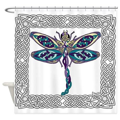 dragonfly bathroom decor dragonfly shower curtain by ferretdeva