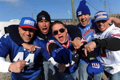 new york giants fans giants fans kick off the super sunday party early ny