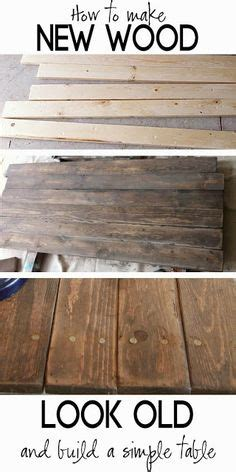 How To Make Paper Look Worn - 1000 images about weathered wood finish on