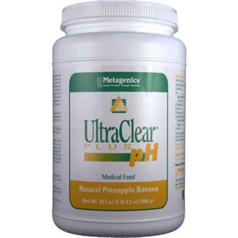Ultraclear Plus Ph Detox by Metagenics Ultraclear Plus Ph Pineapple Banana 34 1 Oz