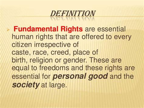 right meaning fundamental rights