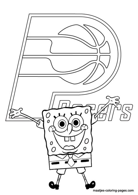 indiana pacers coloring pages indiana pacers free coloring pages