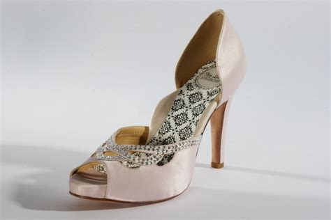 Blush Pink Bridal Shoes by Hey Wedding Shoes Vintage Inspired Bridal Heels Black