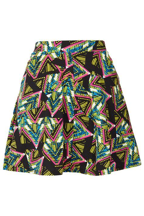 Kokosalaki For Topshop by Topshop Aztec Print Skater Skirt Lyst