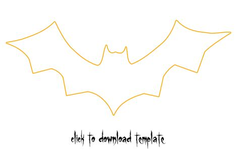 bat template image gallery bats template