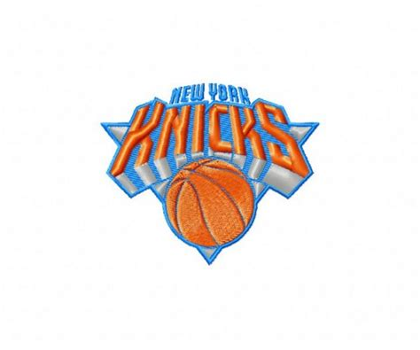 embroidery design ny new york knicks logo machine embroidery design for instant
