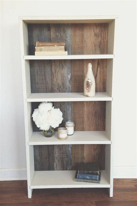 reclaimed wood bookshelf woodworking projects plans