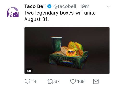Taco Bell Sweepstakes Xbox - tweet from taco bell steak quesarito box with xbox one sweepstakes tacobell