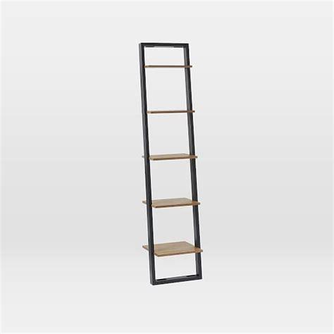 Ladder Shelf Storage by Ladder Shelving Narrow West Elm