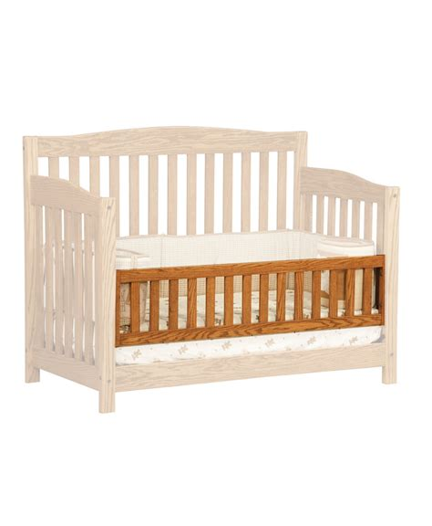 Convert Crib Monterey Conversion Crib Amish Direct Furniture