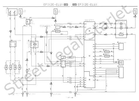 toyota starlet wiring diagram blurts me