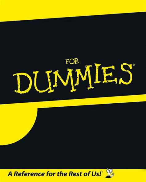 for dummies template for dummies blank template imgflip