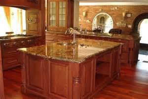 Granite Top Bar Cabinet Golden Granite Kitchen Houston 77054 Residential