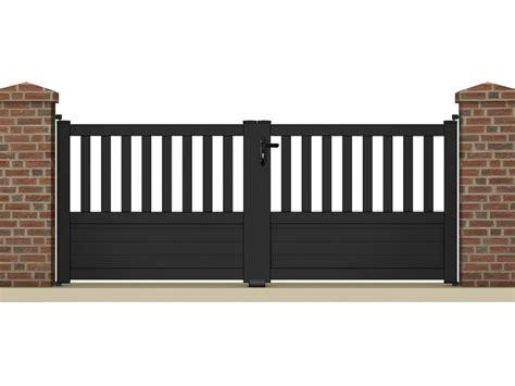 echelle de decoration 1227 portail 224 battant quot pluton quot 3 05 m aluminium coloris