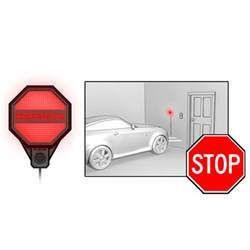 Striker Garage Parking Sensor by Striker Adjustable Garage Parking Sensor