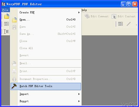 compress pdf foxit editor compress pdf in batch by pdf editor verypdf knowledge base
