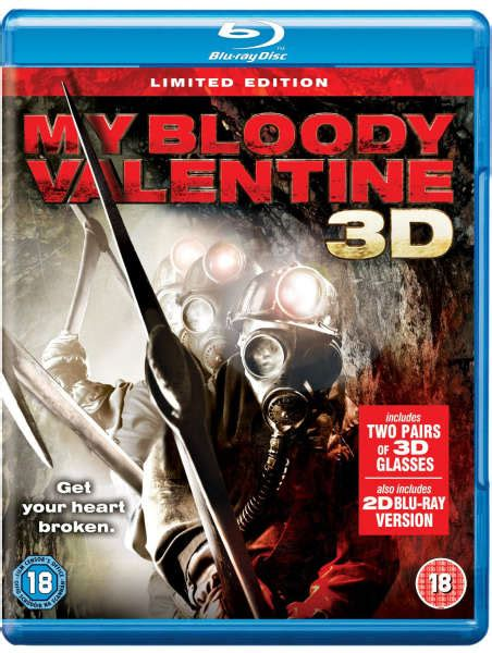 my bloody special edition my bloody 3d anaglyph edition zavvi