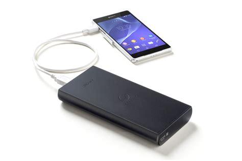 sony cp b20 usb portable charger 20 000mah high capacity