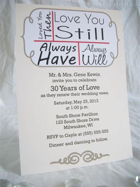 wedding vows renewal invitations wording 24 you still vow renewal invitations onepaperheart