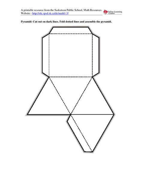 cut out template best photos of geometric shapes printable cut out