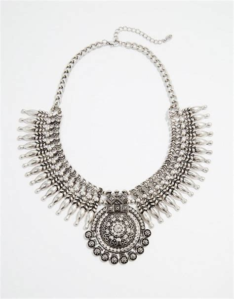 aldo aldo faeni statement necklace