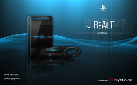 design games ps4 ps4 react concept design by darpan ps4 games wallpapers