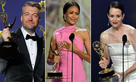 matthew rhys emmy speech welsh emmy awards 2018 thandie newton and claire foy among