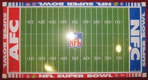 Football Field Template Printable Bing Images Football Field Printable
