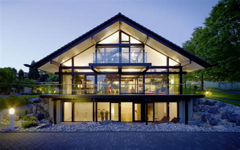 Efficient Home Designs by Design Haus Art 5 Green In Glas Und Holz Architektur Von