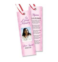 Funeral Bookmarks Template Free by Free Memorial Bookmarks Templates We Specialize