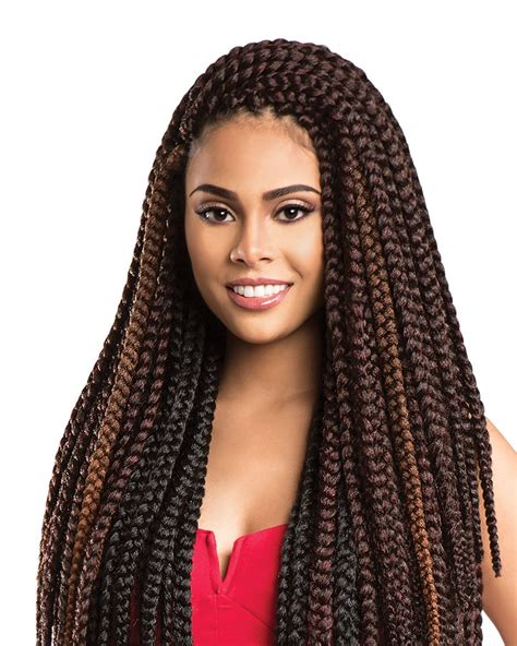 box braids with 2 packs of hair sensationnel african collection x pression 3x pre looped