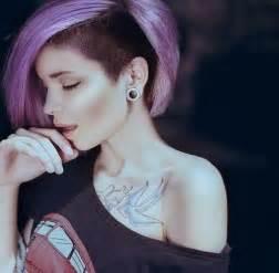 colored undercut moda cabellos pelo rapado mujer undercut 2015