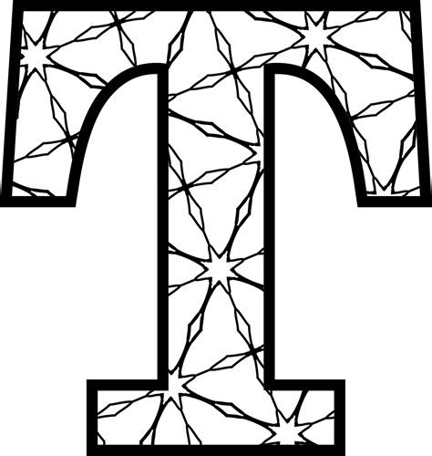 coloring pages of letter box t awaywiththepixels png 2 048 215 2 162 pixels letters