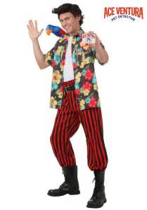 Haloween Costumes Ace Ventura Costume With Wig