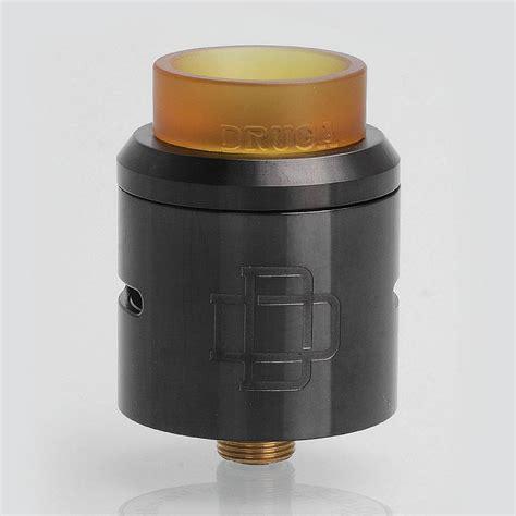 Authentic Rda Druga 24 25 99 authentic augvape druga rda gun metal 24mm rebuildable atomizer