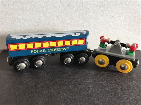 Brio Caboose brio wooden polar express passenger caboose car and