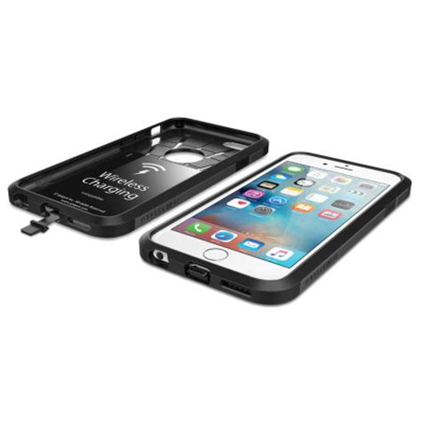 spigen tough armor volt iphone  wireless charging case