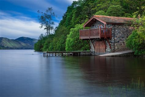 houseboat scotland free photo boat house cottage waters lake free image