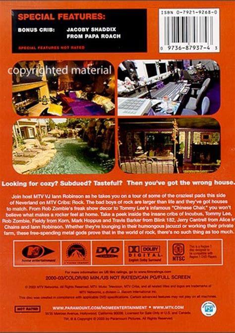 Mtv Cribs Dvd by Mtv Cribs Rock Dvd 2000 Dvd Empire